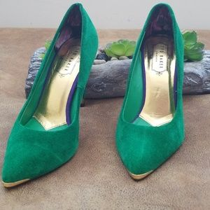 447e1a21be03d Ted Baker London Shoes - Ted Baker Neevo Green Pump